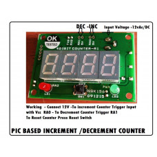 PIC based UP-DOWN Counter