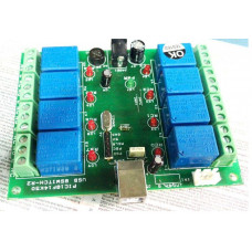 8 Channel Relay Module USB Control Switch -PC