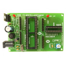 8051 - ADC 0804 Project Board