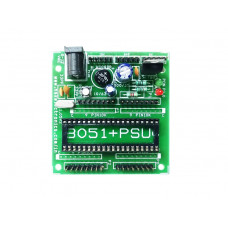 8051 Demo Board with Power Supply