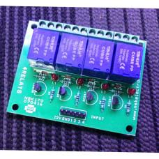 4 Ch relay Board
