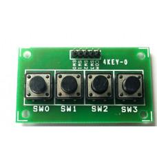 4 Keypad Board