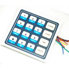 Membrane Keypad -B 4X4