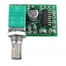 PAM8403 Mini 5V Audio Amplifier Board with Switch Potentiomete