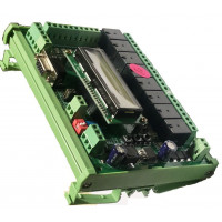 PIC PLC 8 input 8 Output - DIN Rail Mount