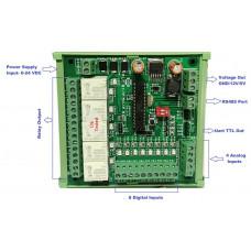 PIC PLC 8 input 5 Output - DIN Rail Mount