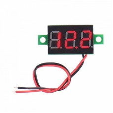 DC Voltmeter Red - 0.28 inch 3.5-30V Two Wire