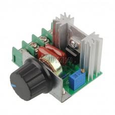 220V /2000W Speed Controller SCR Voltage Regulator Dimmer